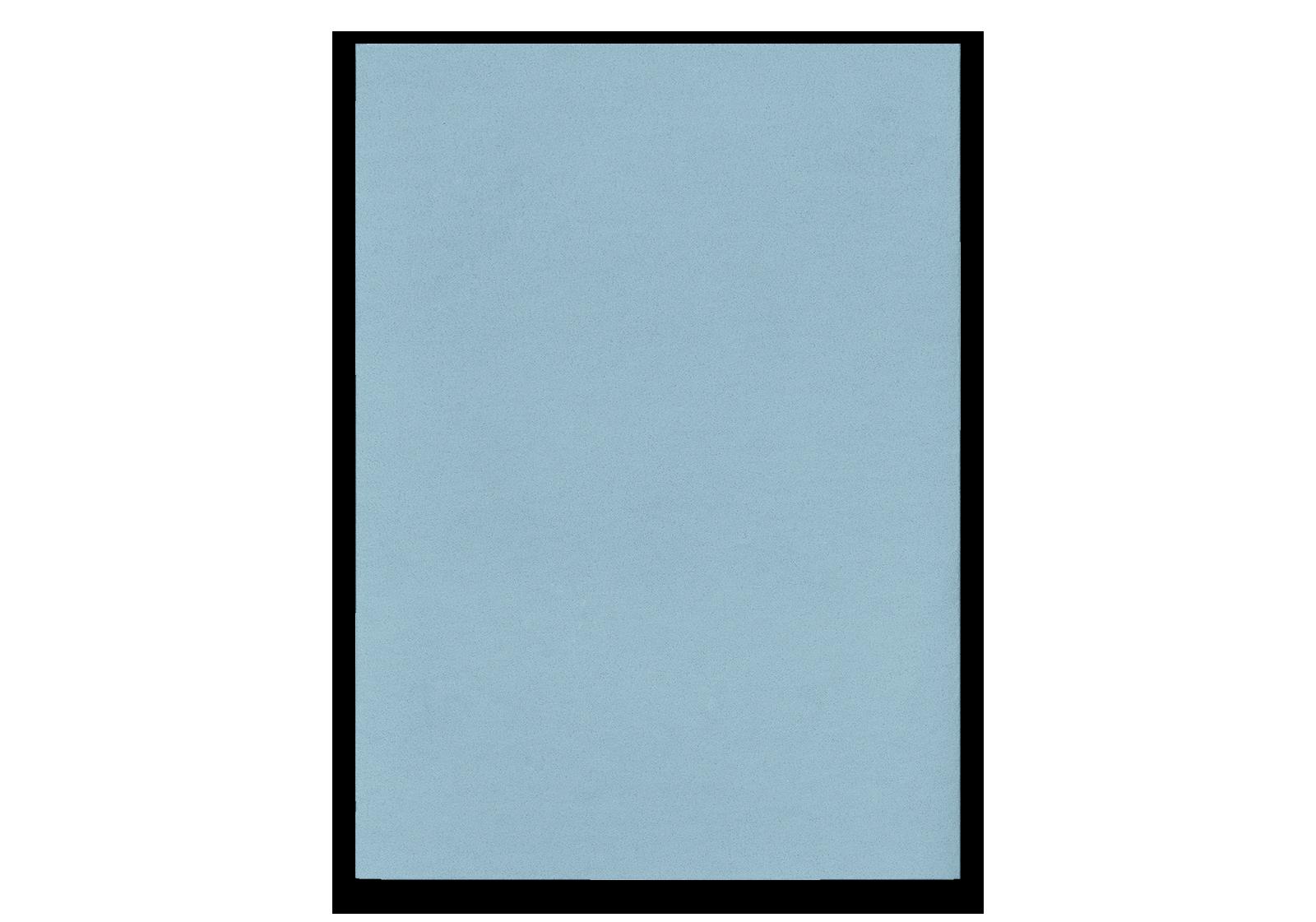 Notizheft L blau punktiert