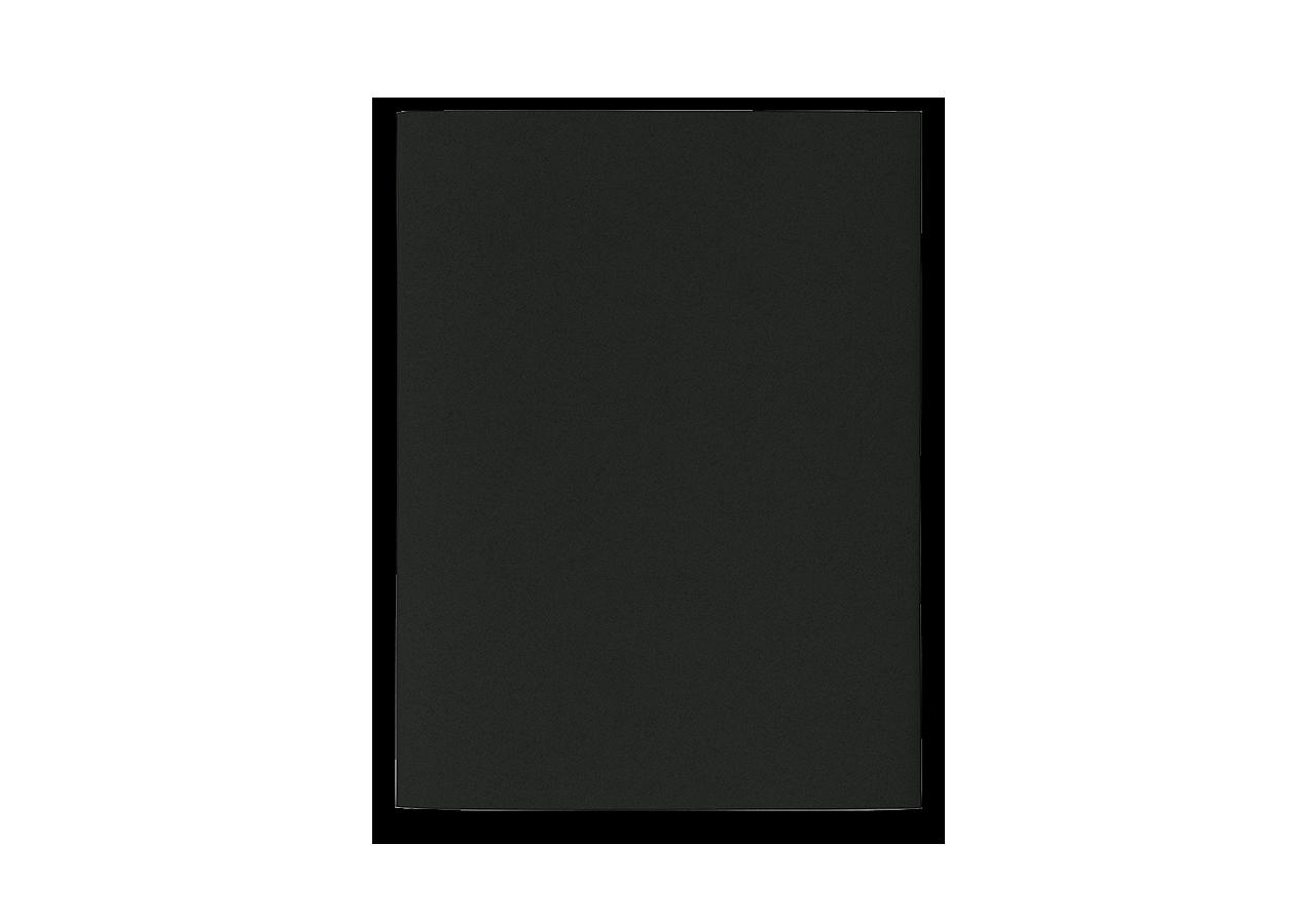 Notizheft M schwarz blanko