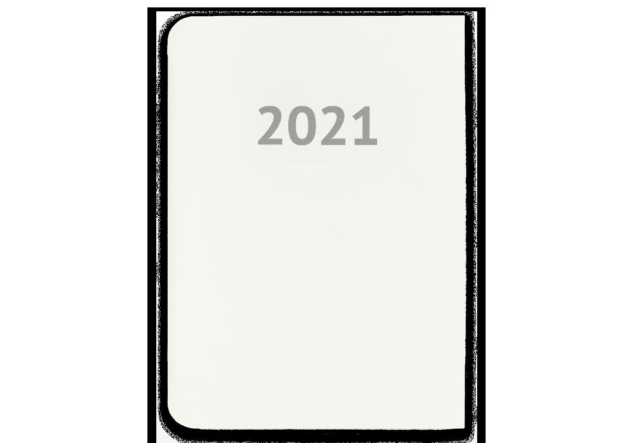 Nachfülleinlage Kalendarium 2021 L